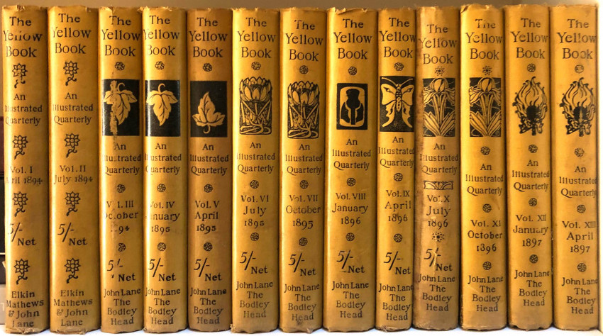 THE YELLOW BOOK - COMPLETE SET OF 13 VOLUMES