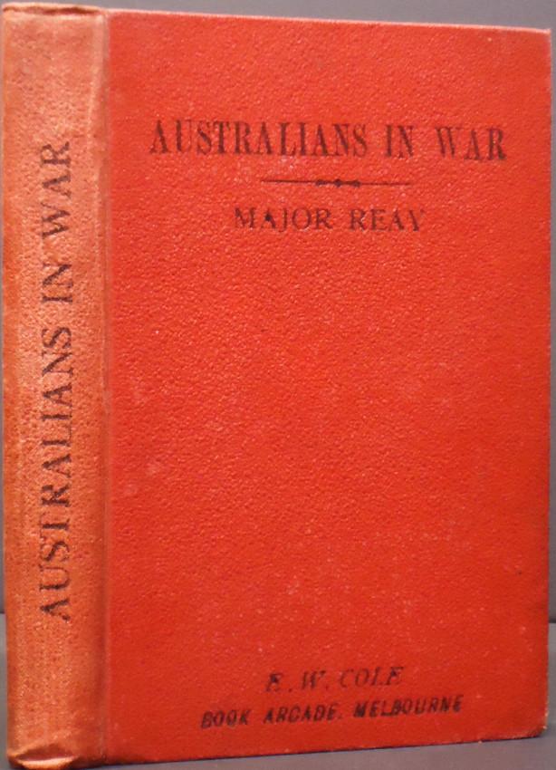 AUSTRALIANS IN WAR