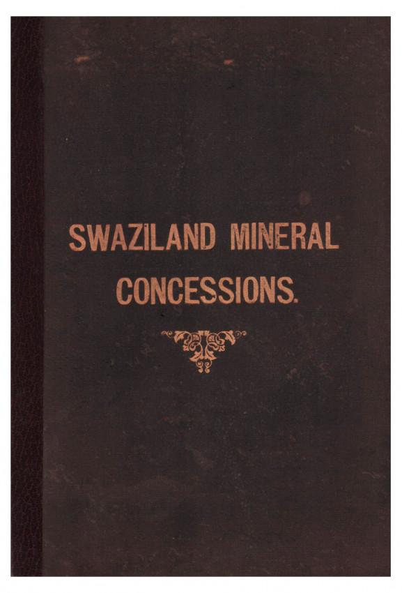 SKETCH MAP OF SWAZILAND: MINERALS  & METAL CONCESSIONS