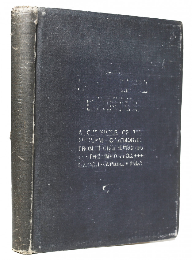 A CHRONICLE OF THE FUNERAL CEREMONIES FROM MUIZENBERG TO THE MATOPOS