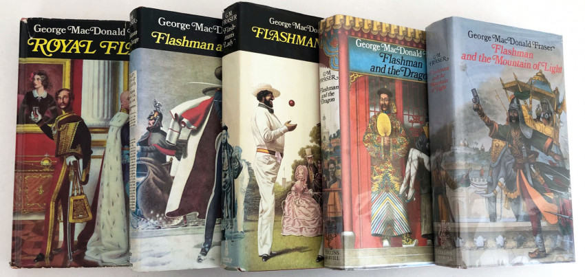 FIVE FLASHMAN  FIRST EDITIONS