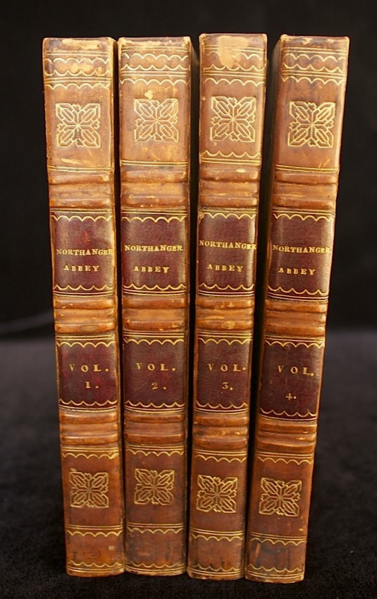 NORTHANGER ABBEY: and PERSUASION - First Edition in Four Volumes (1818)