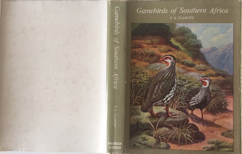 ONE Gamebirds of Southern Africa (1967); TWO Rare Birds of Southern Africa (1985)