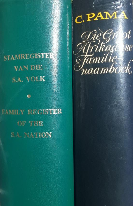 Stamregister van die Suid-Afrikaanse Volk + Die Groot Afrikaanse Familie-Naamboek