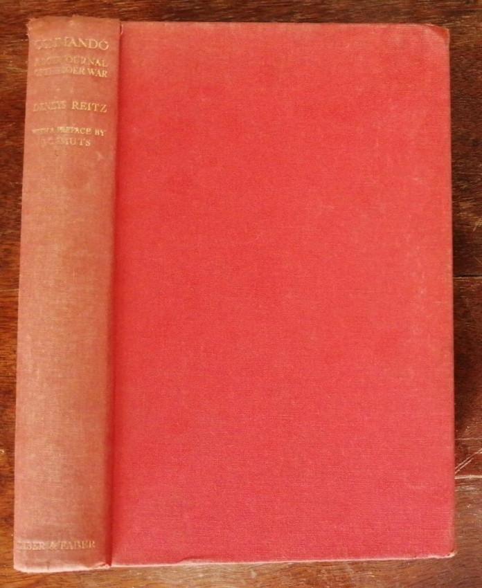 Commando. A Boer Journal of the Boer War (first edition, 1930)