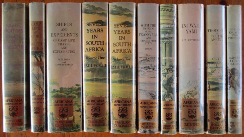 AFRICANA REPRINT LIBRARY (10 of 12 volumes)