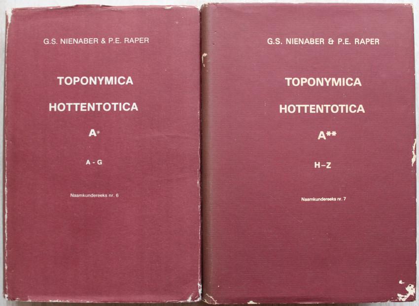 TOPONYMICA HOTTENTOTICA 6 & 7
