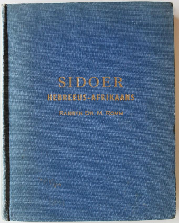 SIDOER  Hebreeus-Afrikaans