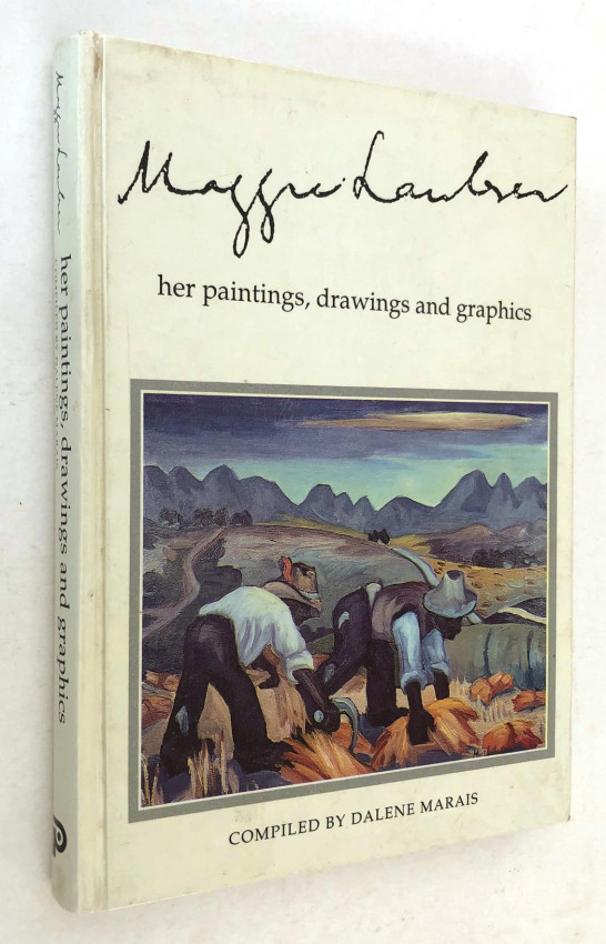 MAGGIE LAUBSER - HER PAINTINGS, DRAWINGS AND GRAPHICS