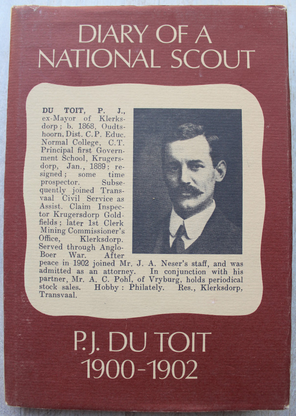 Diary of a National Scout P. J. Du Toit 1900 - 1902