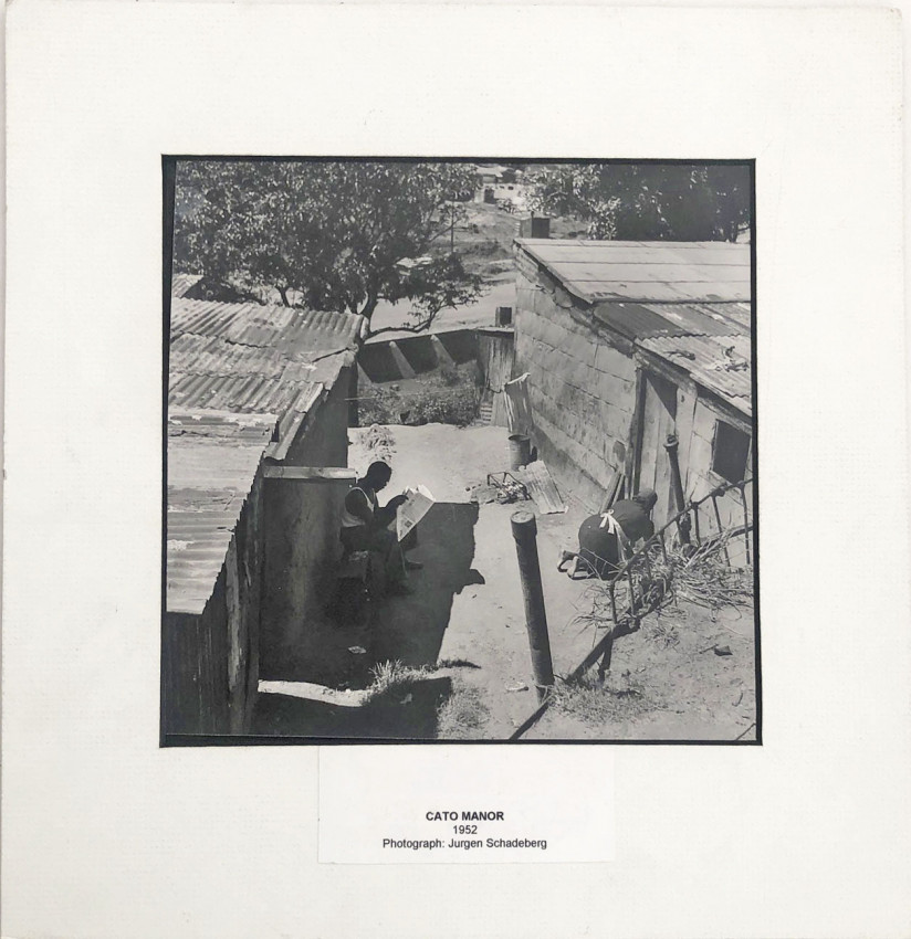ORIGINAL JURGEN SCHADEBERG PHOTOGRAPH - CATO MANOR 1952 - PLUS BOOK 'THE WAY I SEE IT'.