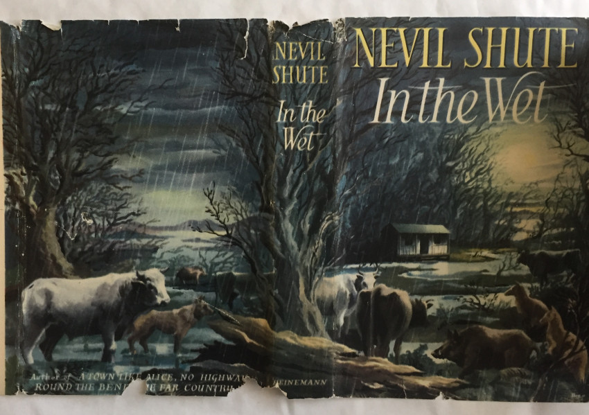 In the Wet (1953 first edition with near very good dustjacket)