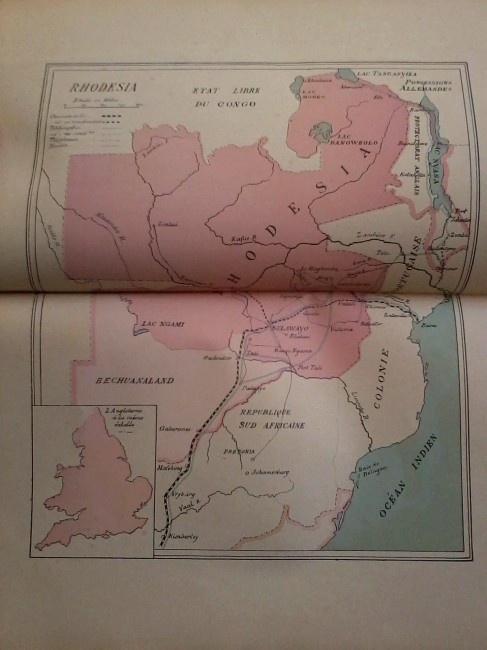The South African Charter Company (1899; With map of Southern Africa - Rhodesia)