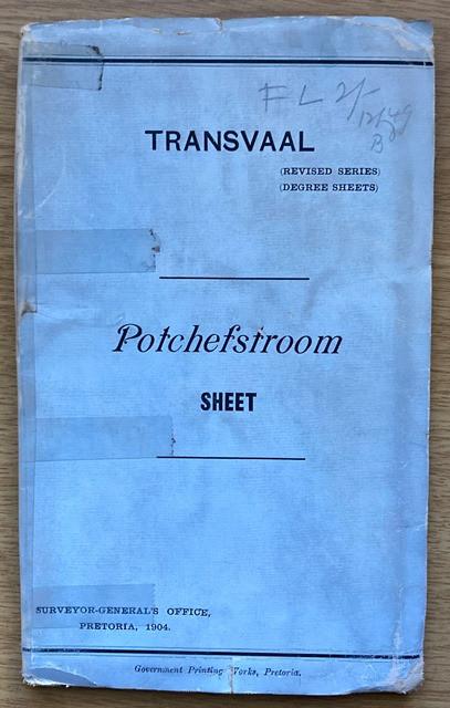 POTCHEFSTROOM [map]: