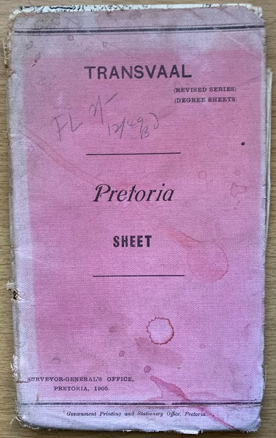 PRETORIA [map]: