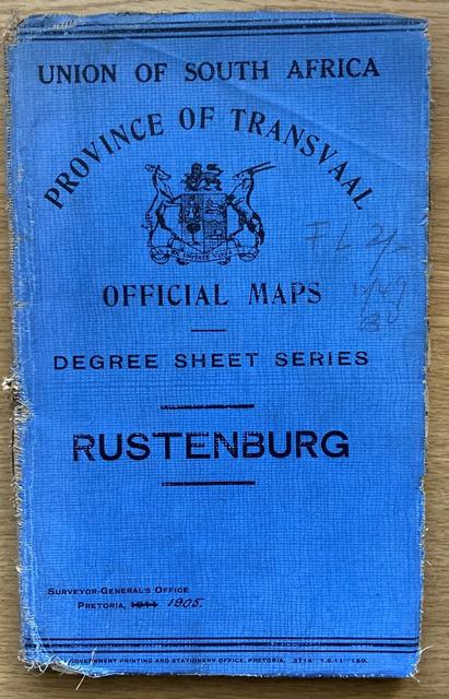 RUSTENBERG [map]: