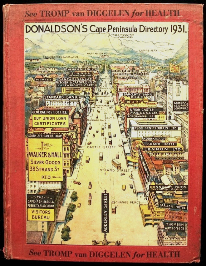 Donaldson's Cape Peninsula Directory (1931)