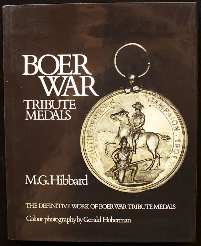 Boer War Tribute Medals - signed limited edition