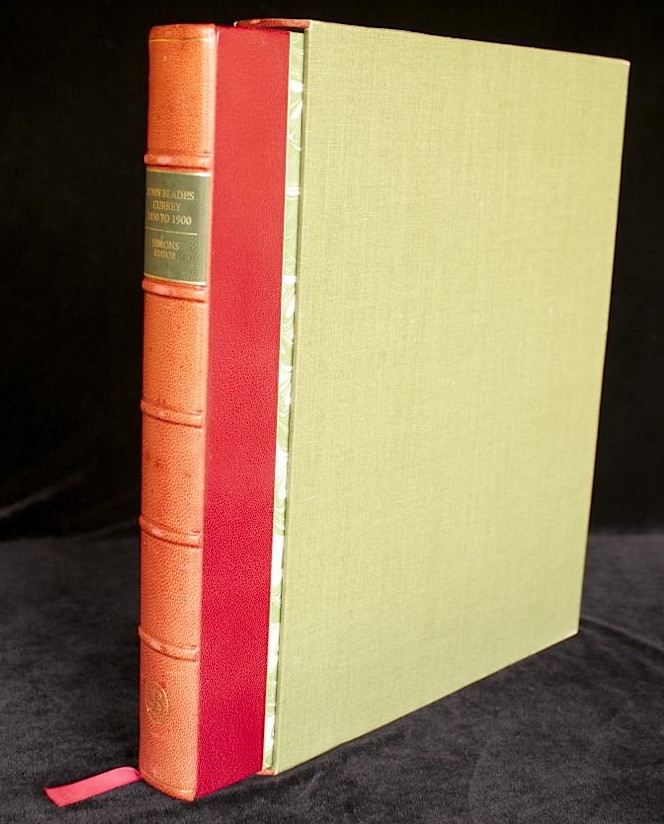 JOHN BLADES CURREY 1850-1900 - Fifty Years in the Cape Colony  (Brenthurst Series Limited De Luxe in Slipcase, 1986)
