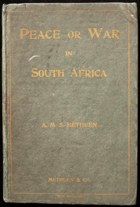 Peace or War in South Africa (1901)