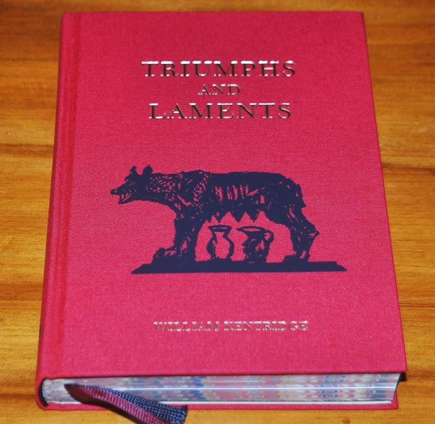 William Kentridge : Triumphs and Laments - Artist's Book