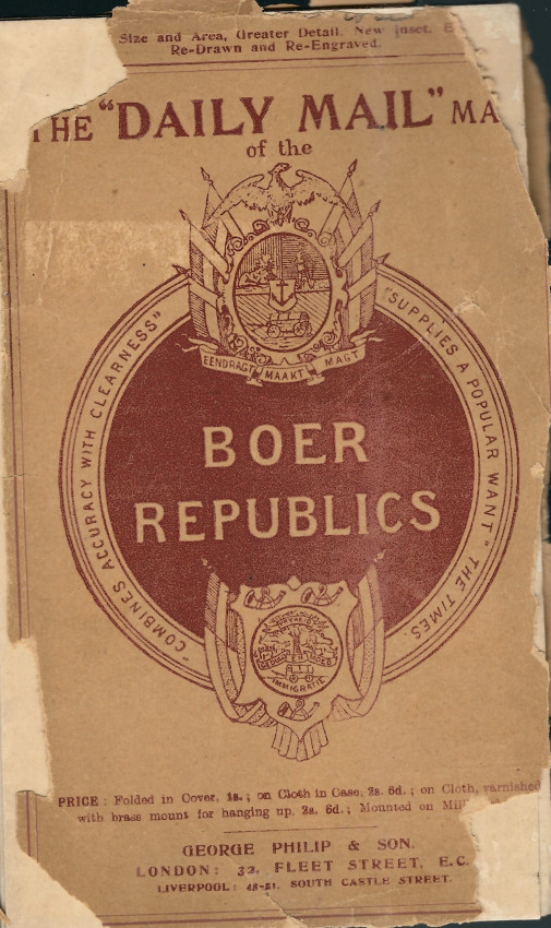 The Daily Mail Map of the Boer Republics