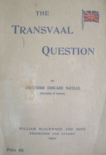 The Transvaal question from a foreign point of view