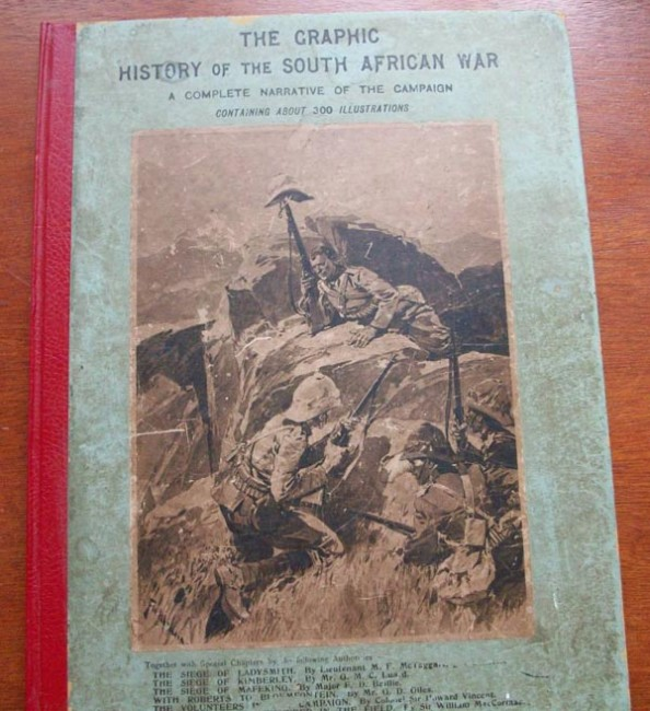 THE GRAPHIC HISTORY OF THE SOUTH AFRICAN WAR