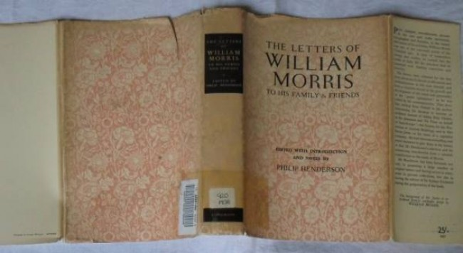 The Letters of William Morris to his Family and Friends (1955)