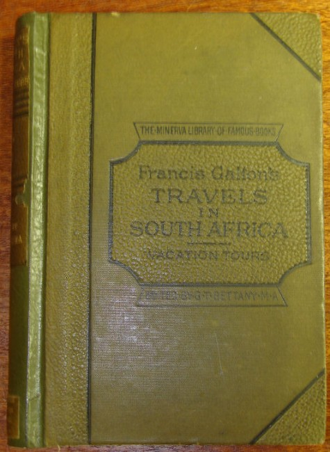 Narrative  Of  An  Explorer  In  Tropical  South  Africa  :  Being  An  Account  Of  A  Visit  To  Damaraland  In  1851