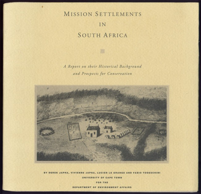 MISSION SETTLEMENTS IN SOUTH AFRICA