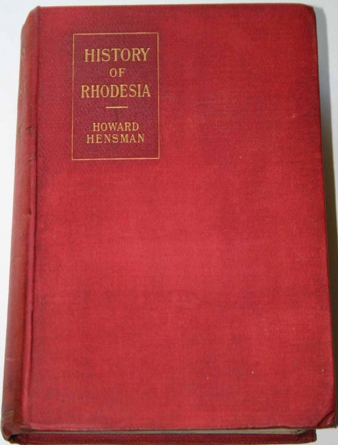 History of Rhodesia Compiled from Official Sources