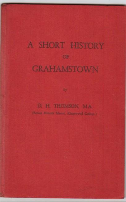 A Short History of Grahamstown