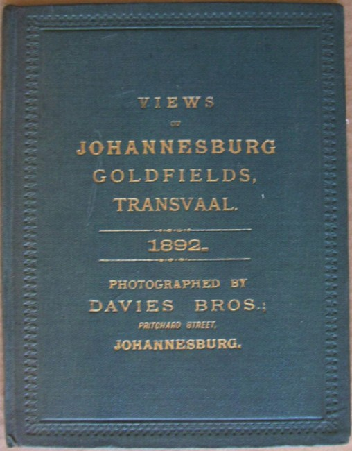 Views of Johannesburg Goldfields, Transvaal