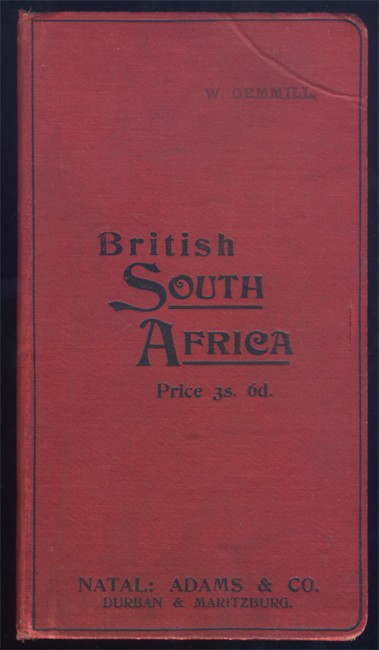 PHILIPS' LIBRARY MAP OF BRITISH SOUTH AFRICA