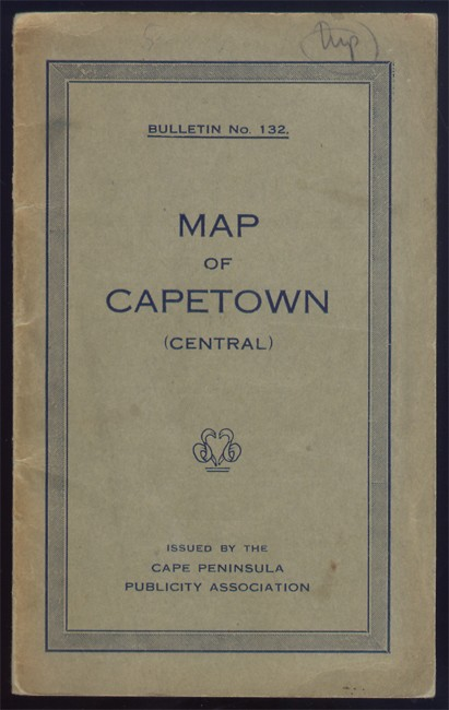 MAP OF CAPE TOWN (CENTRAL)