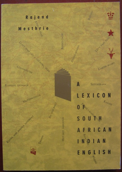 A Lexicon of South African Indian English (Signed)