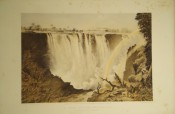 THE VICTORIA FALLS ZAMBESI RIVER, Sketched on the Spot by Thomas Baines