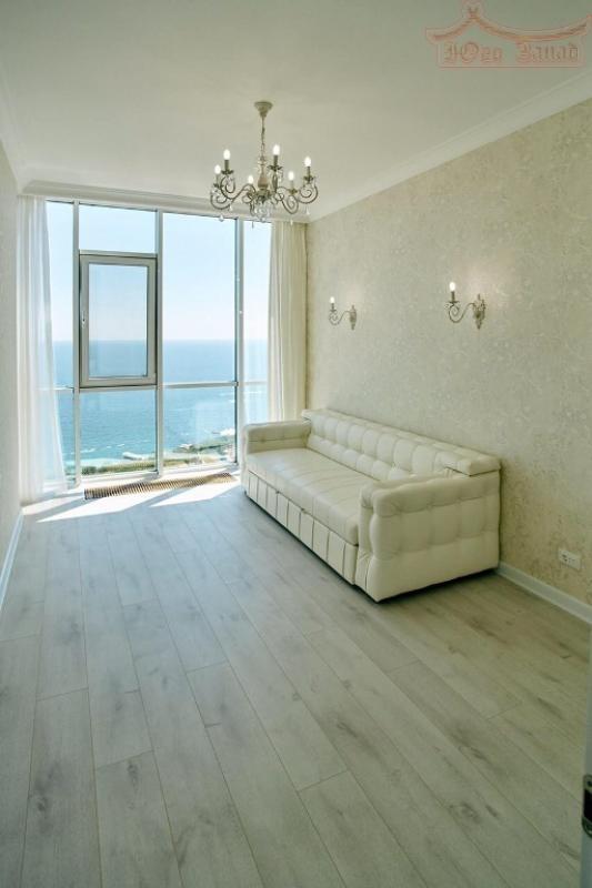 2-хкомнатная квартира с ремонтом и панорамным видом на море в 19 Жемчужине   Агентство недвижимости Юго-Запад
