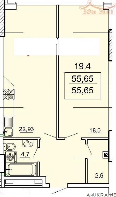 Купите! ЖК Лимнос - квартира свободной планировки.  | Агентство недвижимости Юго-Запад