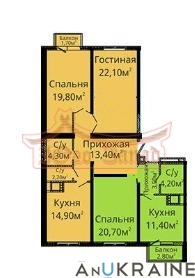 Продается 4 комнатная  квартира в Альтаире-2 | Агентство недвижимости Юго-Запад