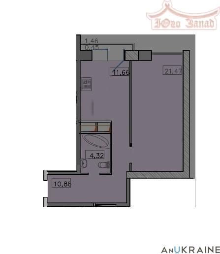 Однокомнатная квартира в 9 Жемчужине | Агентство недвижимости Юго-Запад