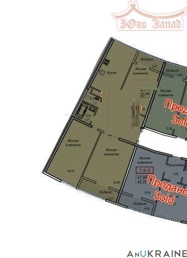 Трехкомнатная квартира в 26 Жемчужине   Агентство недвижимости Юго-Запад