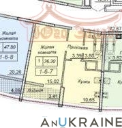 Однокомнатная квартира в 43 Жемчужине | Агентство недвижимости Юго-Запад