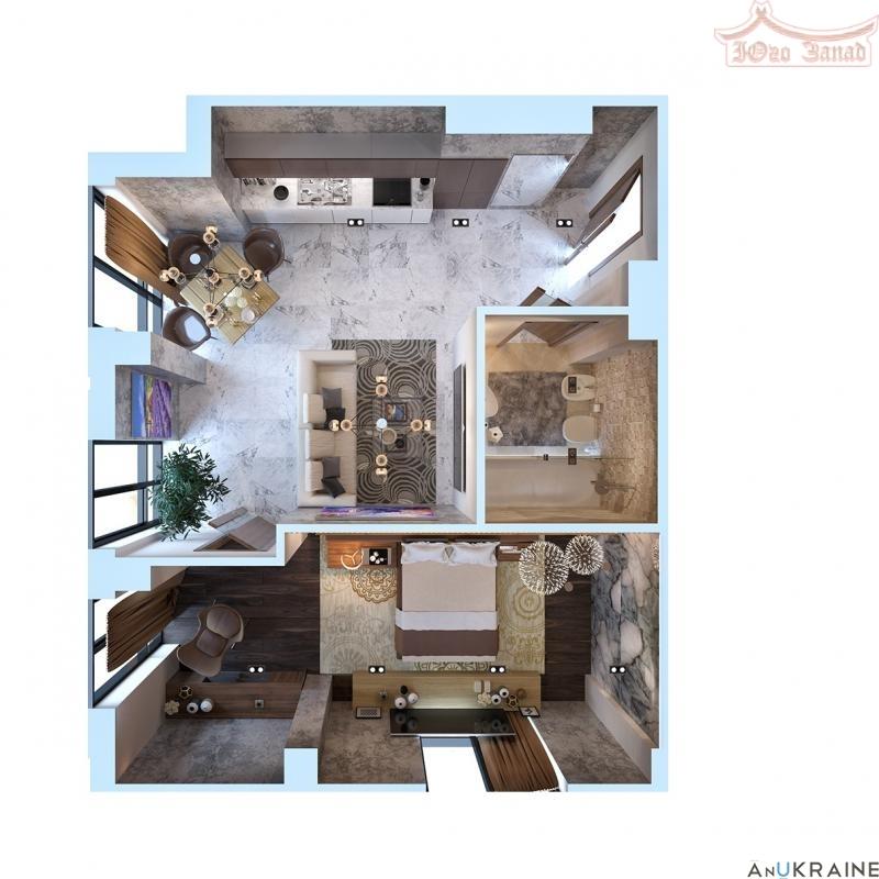 Купите, Квартира в Номом доме- Башня Чкалов | Агентство недвижимости Юго-Запад