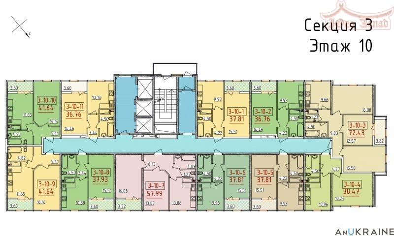 Однокомнатная квартира в 34 Жемчужине | Агентство недвижимости Юго-Запад