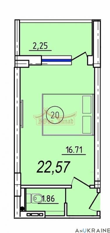 В продаже однакомнатная СМАРТ-квартира   | Агентство недвижимости Юго-Запад