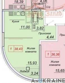 Однокомнатная квартира в 44 Жемчужине   Агентство недвижимости Юго-Запад