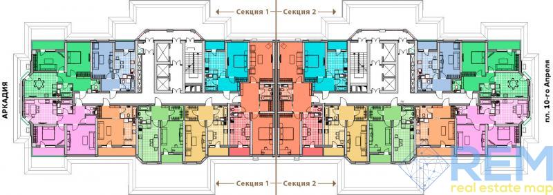 Продается 1 комнатная квартира в ЖК Элегия Парк. р-н Аркадии.  | Агентство недвижимости Юго-Запад