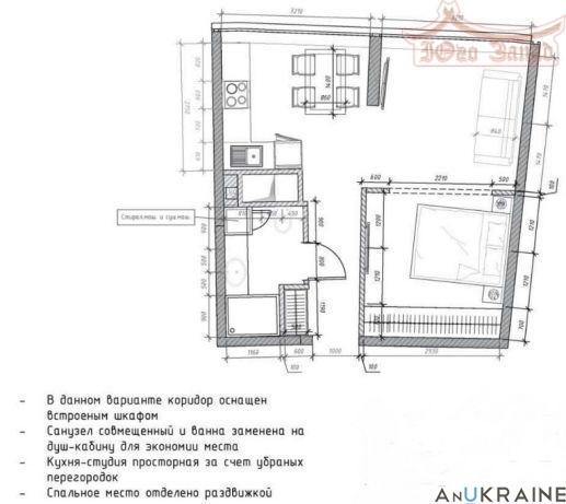 Однокомнатная квартира с видом на море. | Агентство недвижимости Юго-Запад